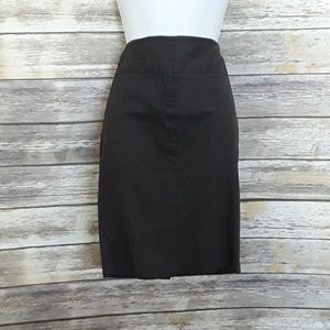 NWT The Limited Dark Gray Pencil Skirt